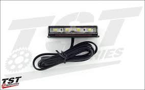 Low-Profile <b>Universal Motorcycle</b> License Plate <b>Light</b> | TST Industries