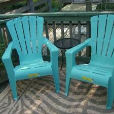 Outdoor Polywood South Beach Recycled Plastic Adirondack Chair