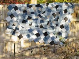 7 Dazzling Denim Quilt Patterns & Crazy Denim Quilt Pattern Adamdwight.com