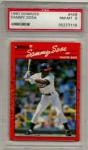 Comes in a plastic top loader for its protection. Sammy Sosa Rookie Card Checklist Best Rookie Card Options