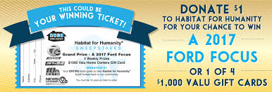 every penny of the money collected benefits 15 diffe habitat for humanity affiliates across western ny central ny and northwestern pa