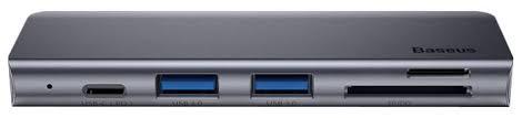 <b>USB</b>-<b>концентратор Baseus Harmonica</b>, разъемов: 5 — купить по ...