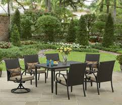 better homes and gardens layton ridge 7 piece patio dining set