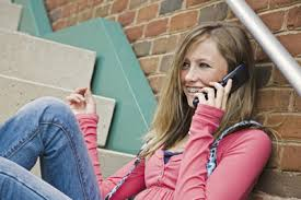 Teen Talking On Cell Phone Stock Photography   Image            Apps Teens Love that Parents Need to Monitor
