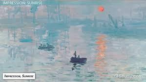 monet s impression sunrise painting ysis lesson transcript study com