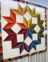Quilt Pattern - Dereck Lockwood - Meditation | Triangle shape ... & Carpenter Star Quilt (Quilting Land) Adamdwight.com