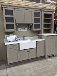 Martha Stewart Laundry Cabinet Weathered Pieces Kitchen Remodel With Martha Stewart Cabinets