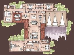 Best 25 House plans with courtyard ideas on Pinterest
