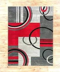 red and black area rugs modern rug grey beige circles carpet contemporary a