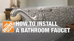 install bathroom sink faucet. How To Install Or Replace A Bathroom Sink Faucet