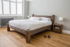 Reclaimed Wooden Beds | Rustic Solid Wood Bed Frames – Eat Sleep Live