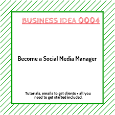 Become A Social Media Manager Instantwebsites
