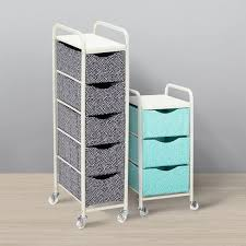 Ready-To-Roll Storage Cart, Mini Dot | PBteen