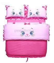 cute boys bedding new embroidered cute cat pink girls children bedding sets twin size architecture schools in georgia