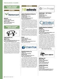 Behavioral Healthcare Executive 2015 Resource Guide