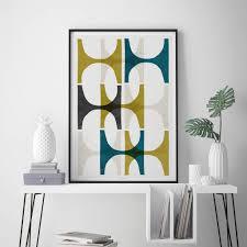 modern art furniture. Image Of: Good Geometric Wall Art Modern Furniture