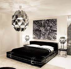Modern Glam Bedroom Bedroom Glamorous Bedroom Decoration With Cool Chandelier Plus