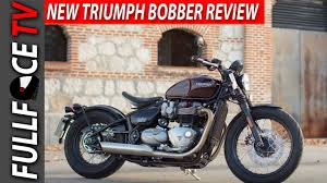 2017 triumph bobber accessories and review youtube