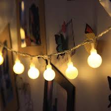 image of led string lights for bedroom