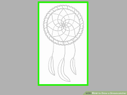 How To Draw A Dream Catcher How to Draw a Dreamcatcher 100 Steps with Pictures wikiHow 23