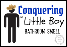 How To Get Urine Smell Out Of Bathroom Enchanting Conquering The Little Boy Bathroom Smell