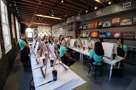 painting class cancer survivors