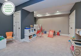 Exploring The Value Of A Finished Basement Home Remodeling - Finished basement kids
