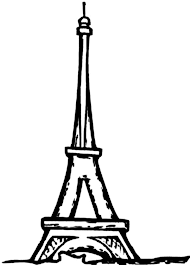Small Picture Eiffel Tower France Romance Coloring Page Eiffel Tower France