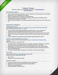 Graphic Design Resume Examples Resume Examples For Graphic Designers