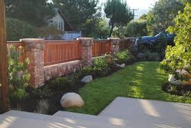 Small Picture 109 best Wood and Brick Fences images on Pinterest Garden fences
