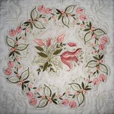 Best 25+ Machine embroidery quilts ideas on Pinterest | Machine ... & Embroidered Quilts | The quilter used the embroidery designs to create quilting  motifs. Adamdwight.com