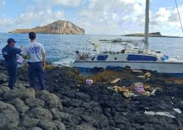 Marine Science Technician Coast Guard State Of Hawaii Respond To Grounded Sailboat On