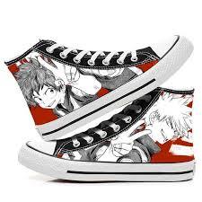 QZH Boku No Hero Academia My Hero Academia <b>Shoes</b> Canvas ...