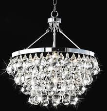 gorgeous contemporary crystal chandelier 2 modern chrome and crystal chandelier
