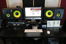 build studio desk ikea recording furniture diy workstation uk recording studio desk ikea