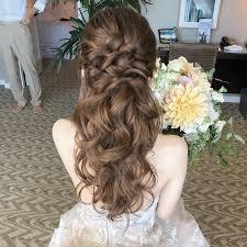 花嫁のウェディングドレスに合う髪型18選人気ティアラ和装新婦 Cuty