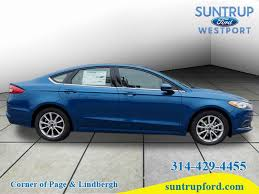 New  Ford Fusion Sedan SE Lightning Blue For Sale In Saint - Ford fusion exterior colors