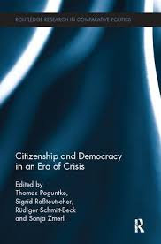 citizenship and democracy in an era of crisis essays in honour of  citizenship and democracy in an era of crisis essays in honour of jan w