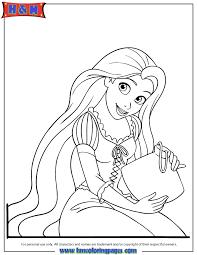 Small Picture Rapunzel Color Pages chuckbuttcom