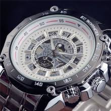 best skeleton watches men online shopping the world largest best 2017 new fashion men male winner brand mechanical watch steel automatic stylish classic steampunk skeleton wristwatch