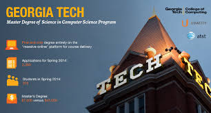 computer tech degree georgia tech launches first massive online degree program at t