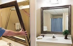 custom bathroom mirrors framed. rectangular recommends bathroom mirror frames using visual sparkle advises single shaped pendant square grand custom mirrors framed e