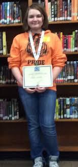 Tahlequah Public Schools - TMS Student Ava Jones advancing to State GeoBee!