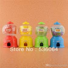 Mini Candy Vending Machine Custom 48 Fashion Mini Candy Gumball Vending Machine Saving Box Coin Bank