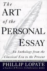The Art Of The Personal Essay Phillip Lopate Art Personal Essay Anthology Abebooks