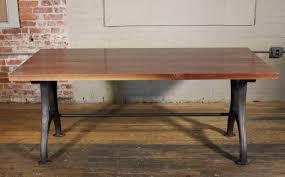 industrial modern furniture. Bespoke Walnut Desk With Cast Iron Legs Industrial Modern Work Custom Table For Sale At 1stdibs Furniture