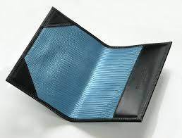 handmade leather golf scorecards