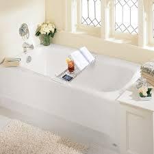 Bath Tray Stainless Steel Bathtub Caddy With Perfect Organizer