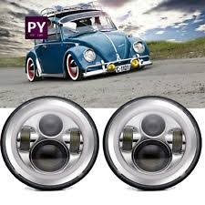 1972 vw beetle parts ebay Vw Beetle Fuse Box Upgrade 7inch chrome led headlights upgrade hi low beam round kit for vw beetle classic ( 2000 vw beetle fuse box upgrade