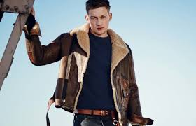 revive your inner bad boy with the brown leather jacket